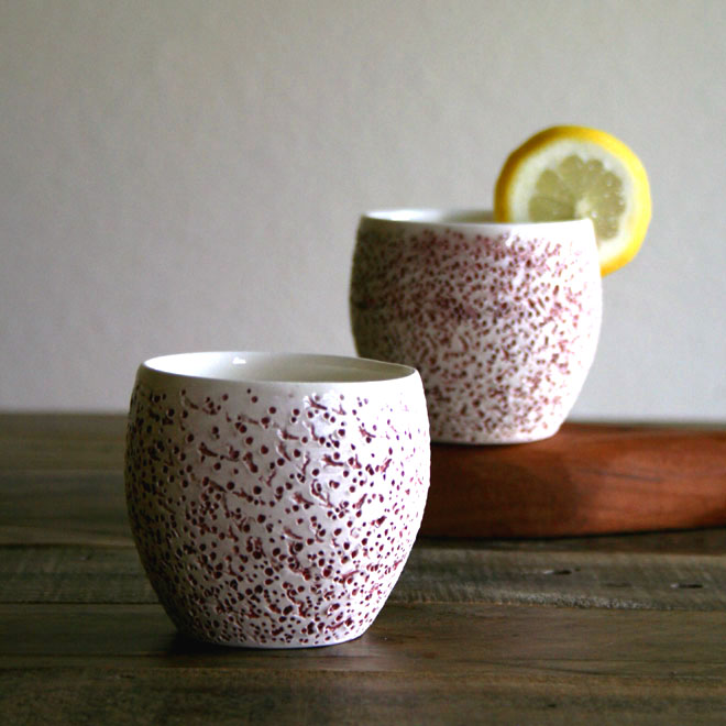 Stippled Cups