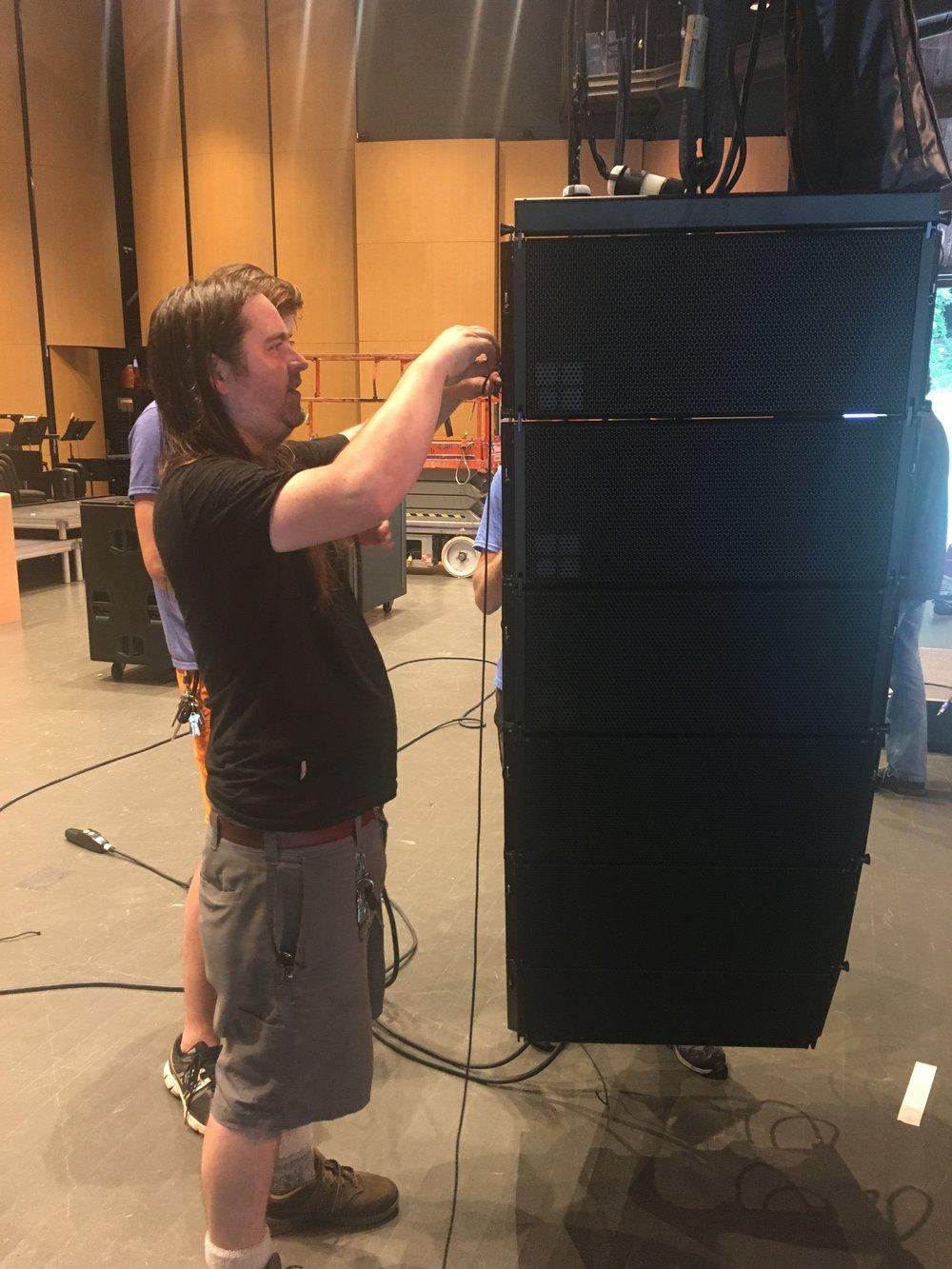 Brady Hislop Asheville Sound Video Engineer