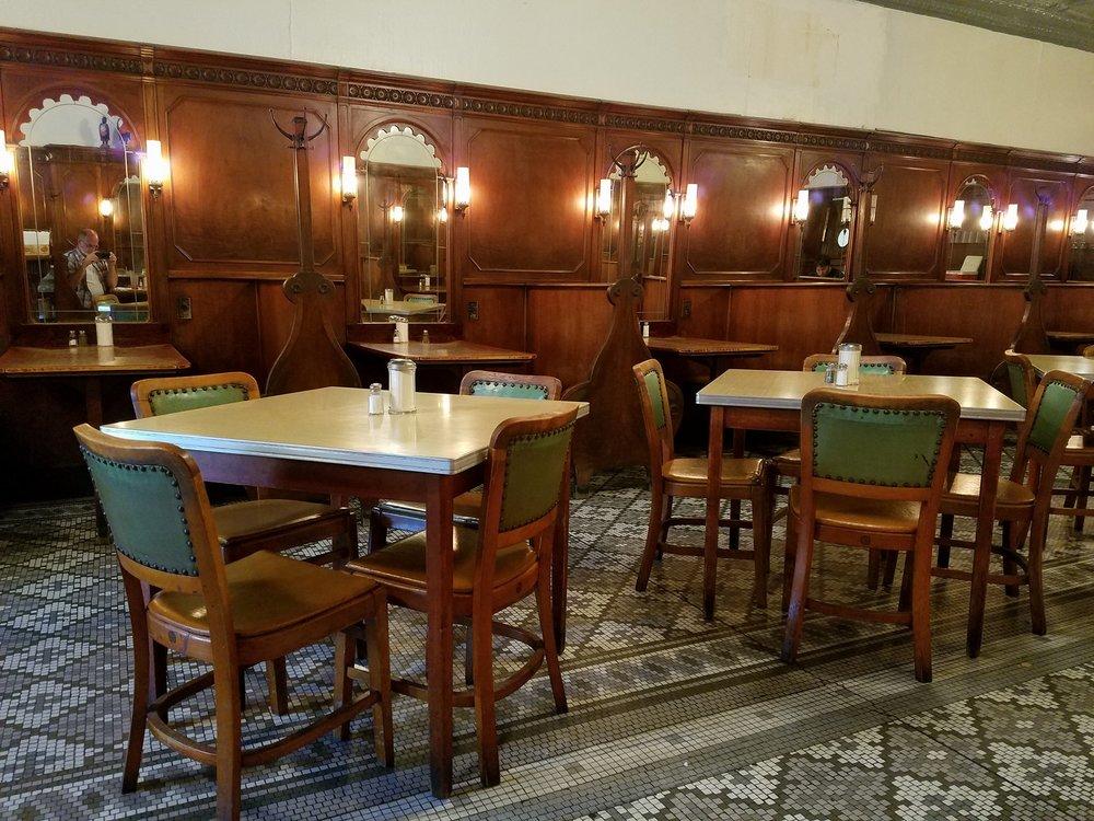 The Crystal Dining Room and booths. Photo via TripAdvisor