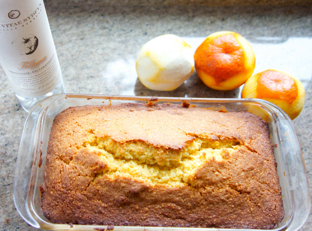You'll make a lot of friends with polenta cake, whether you make it in a Bundt Pan or regular loaf pans. Bon apetit!  (Photo by Terra Brockman)