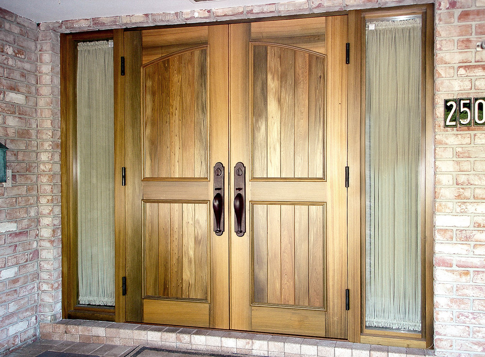 Old Growth Cypress Entry Doors