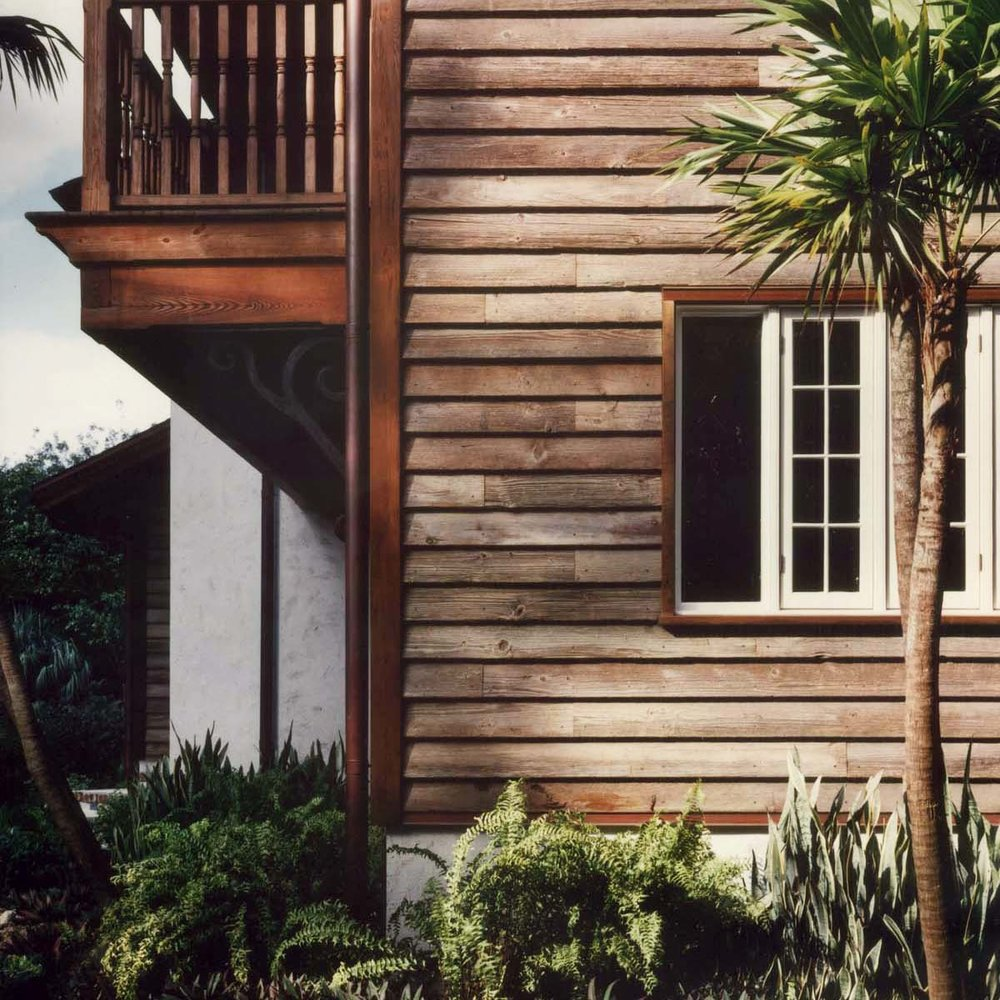 Siding on a Florida Home