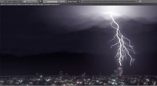 How To Create A Lightning Storm Blender Guru