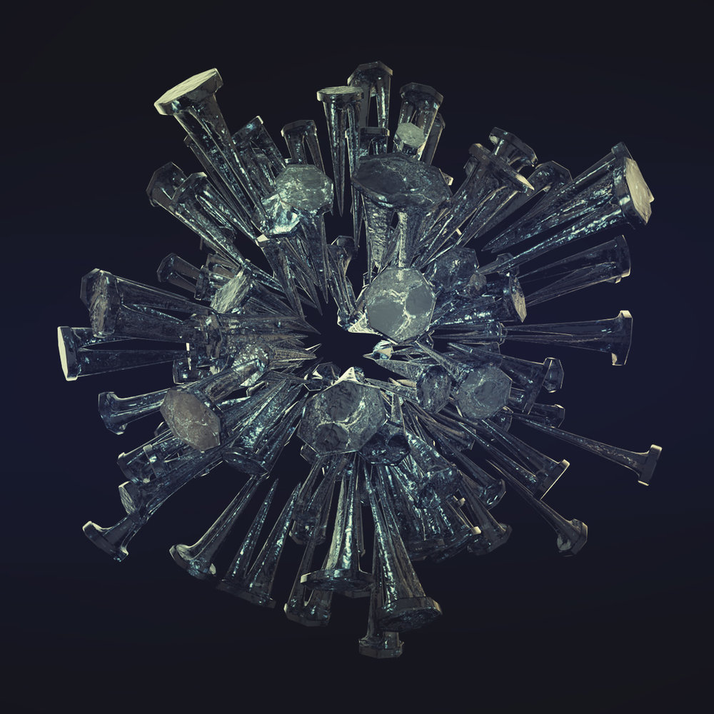 Make a Broken Up Glass Abstract Piece in Cinema 4D