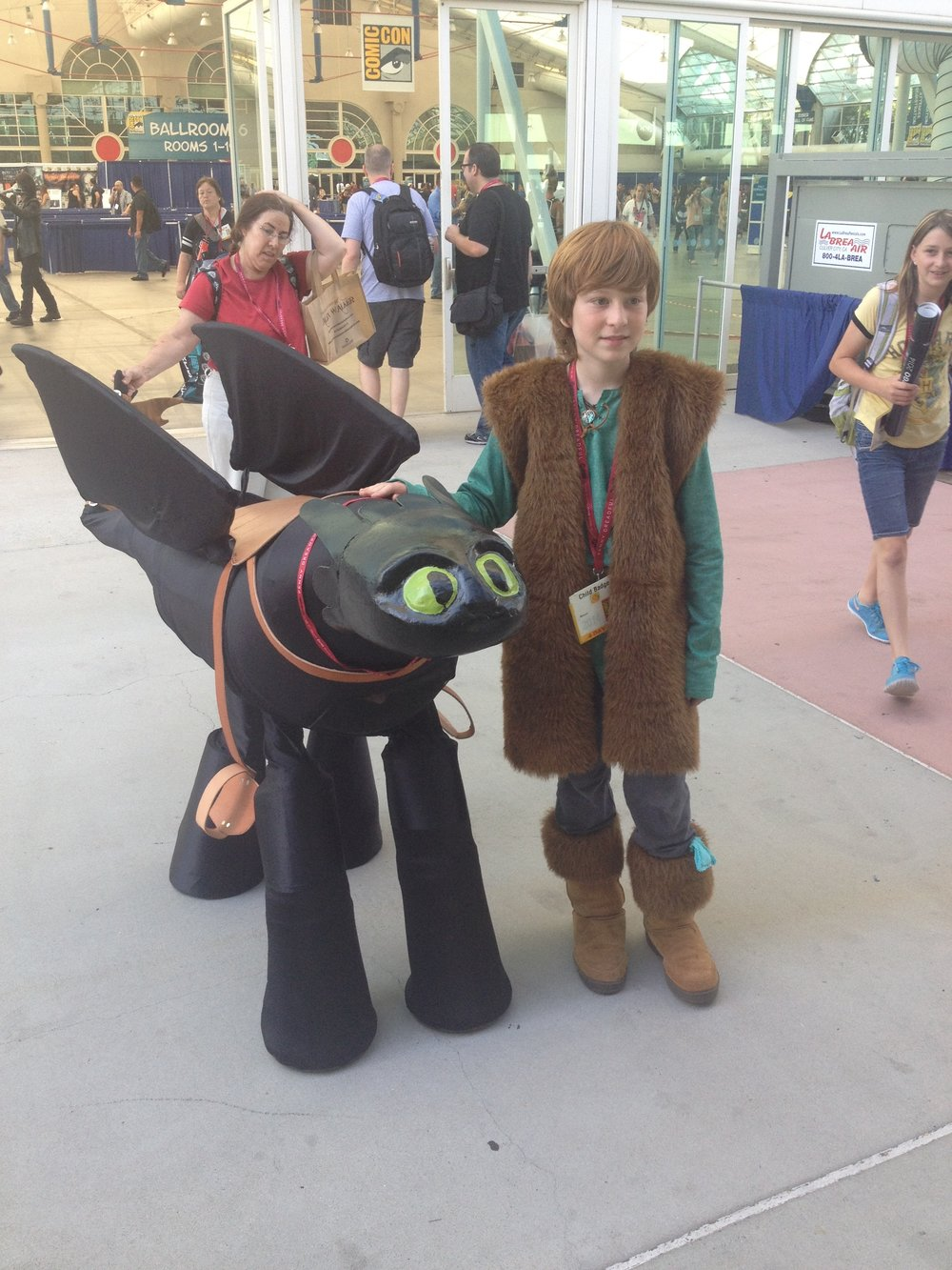Awesome Cosplay kid