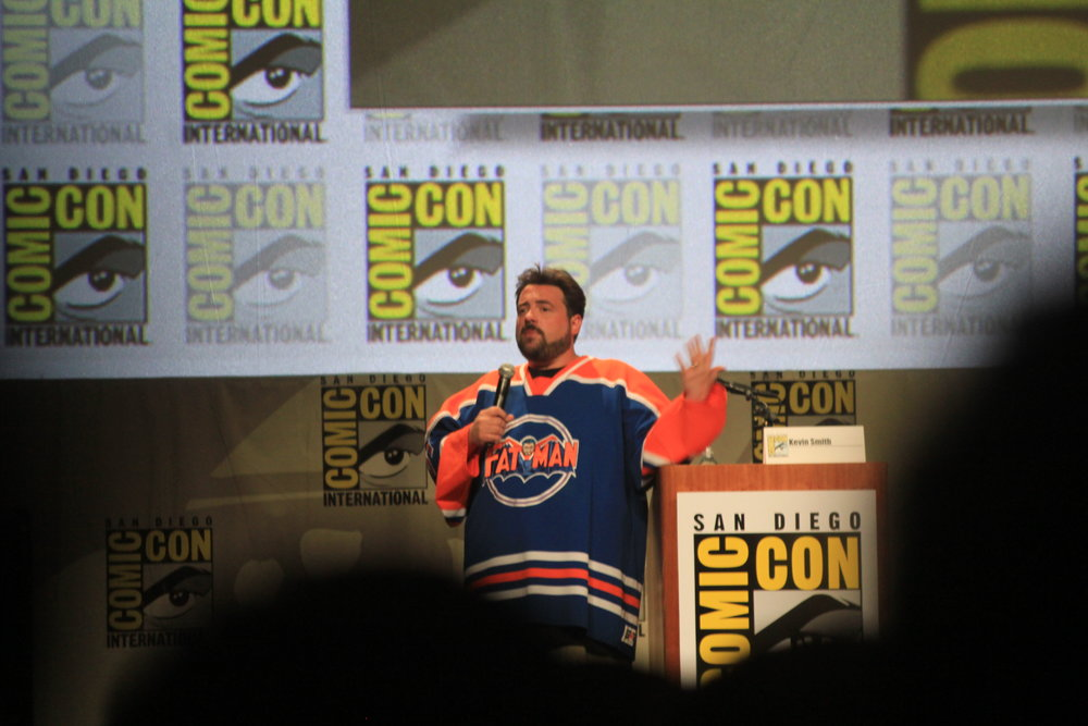 Kevin Smith giving his annual rant. Definitely the highlight of Comic Con