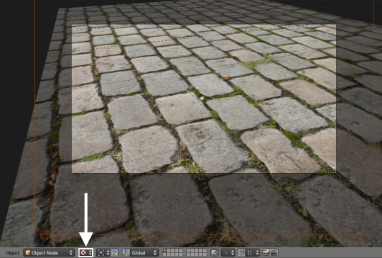 how to set camera to view position blender