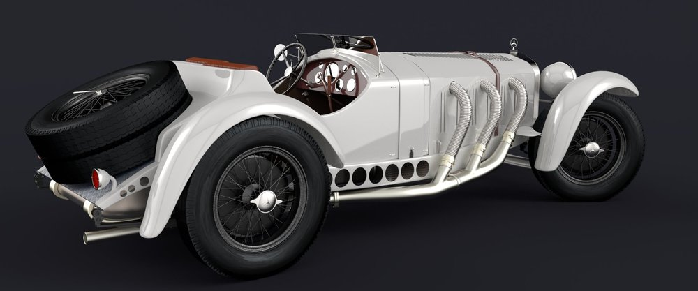 """Mercedes Benz SSK 1929"" by ramzy49, modified for this article"