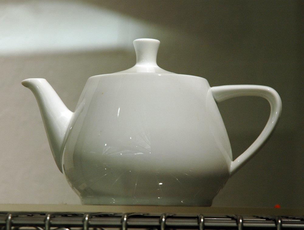 The original Utah Teapot (taken by Marshall Astor)