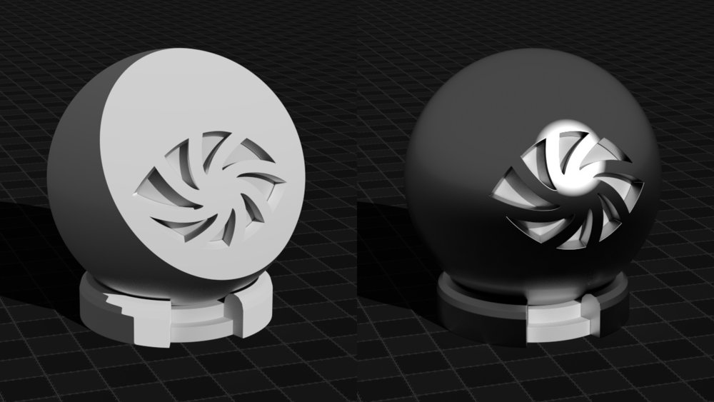 Toon components (diffuse vs glossy)