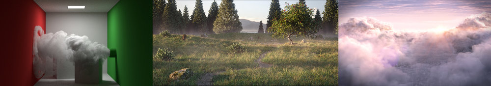 See it used:  Make a Grassy Meadow Scene ,  How to Make Clouds with Cycles