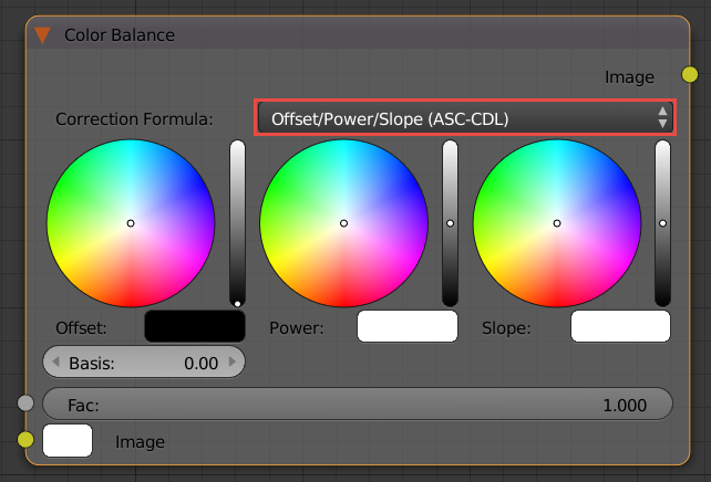 Instead Use The Color Balance Node Set To Offset Power Slope Other Formula Lift Gamma Gain Shouldnt Be Used Ever As Its Based On Display