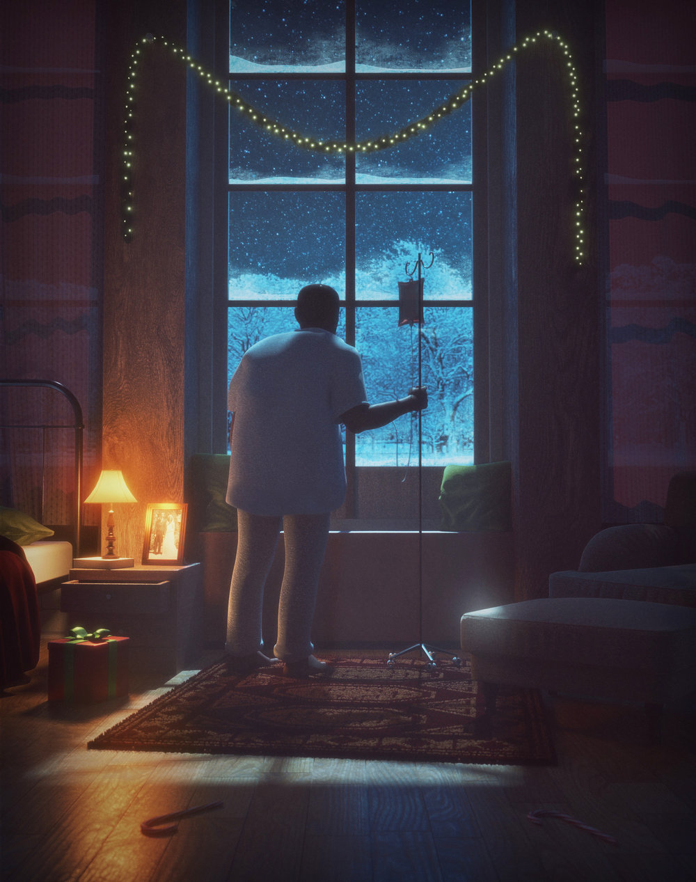 """""""Grandpas last Christmas"""" by Niclas Arbter"""