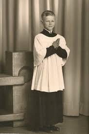 Luddy Pugano altar boy