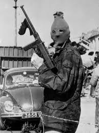Irish Republican Army gunman