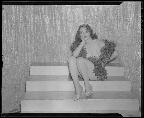 Celeste Pugano Dance Hall Girl (1943)