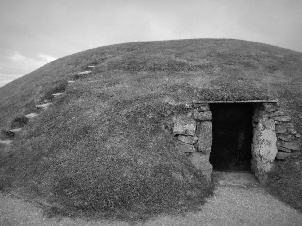 Ancient Irish passage tomb