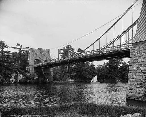 Chain Bridge in Newburyport, MA