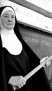 Catholic school nun