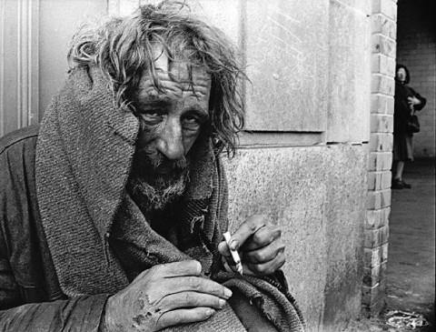 Homeless man Boston MA