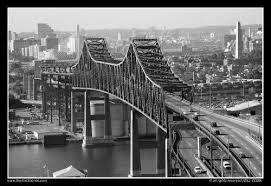 Tobin Bridge Boston MA