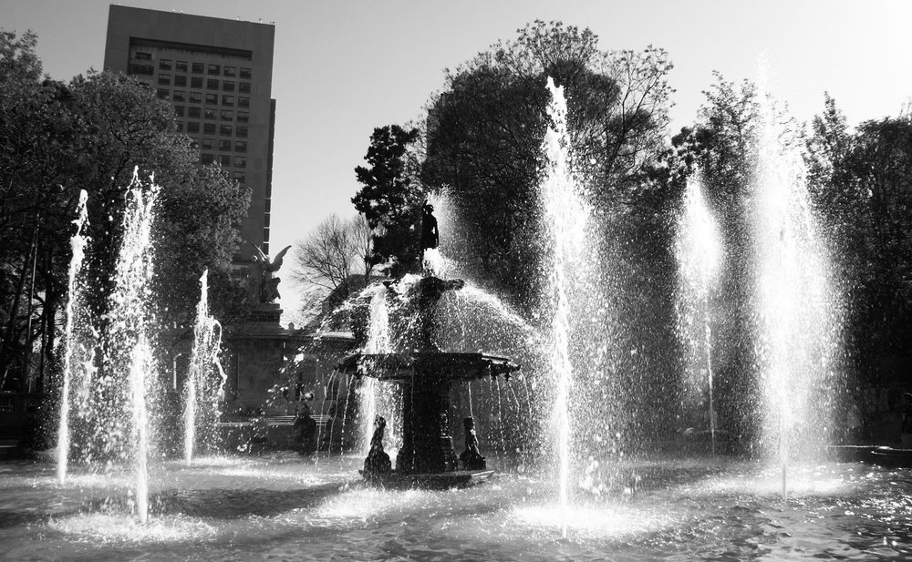Alameda Fountain Mexico City