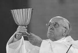 Father Scarpino celebrates Mass