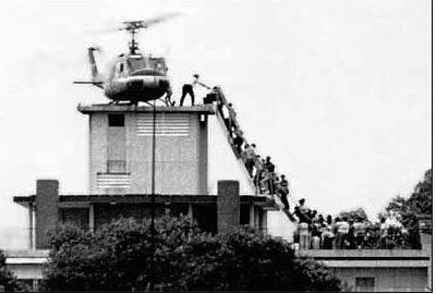 Saigon evacuation April 30, 1975