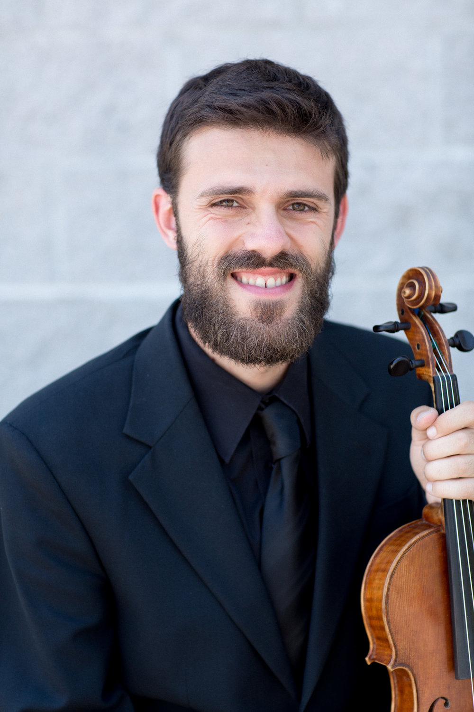 Tim Zieminski, violin