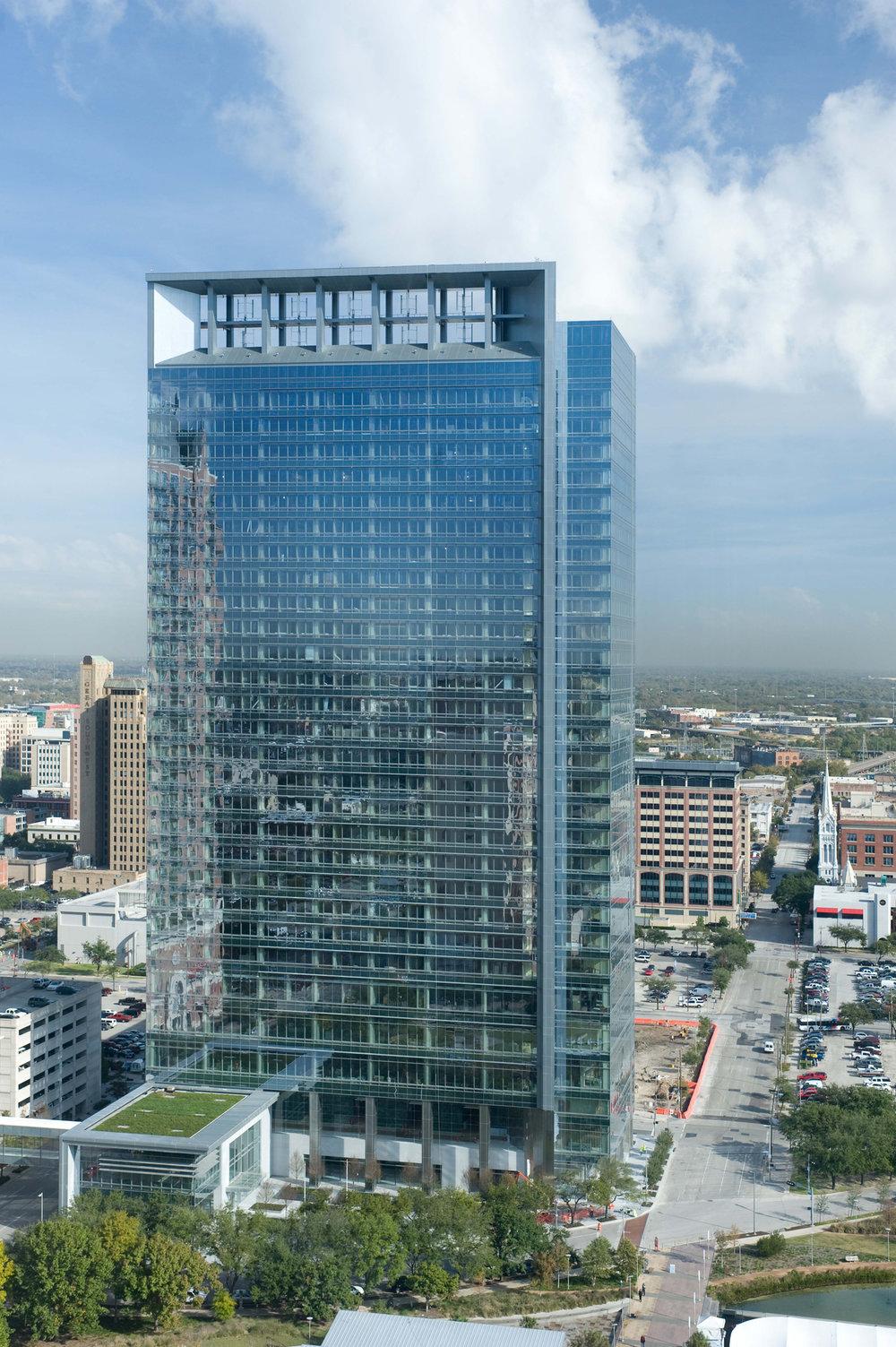 Hess Tower ca. 2011. (Photo credit: http://www.gilbaneco.com/)