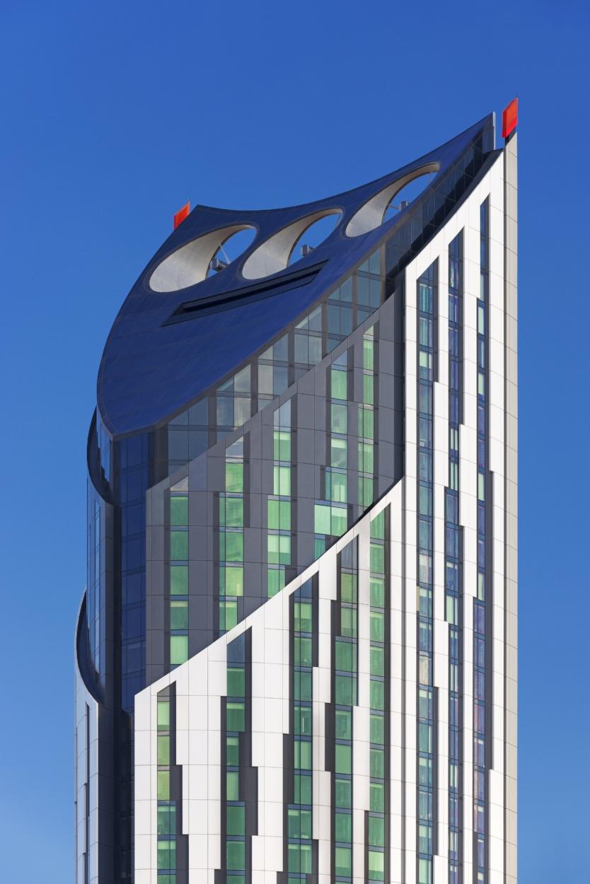 Building-integrated wind turbines (London)