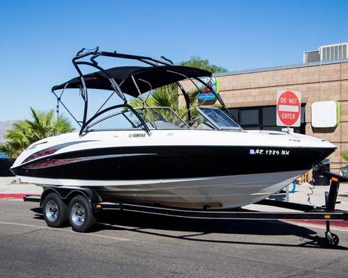 YAMAHA AR 230 JET BOAT - Havasu Boat Rental