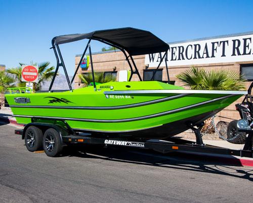 2016 Thunder Jet Boat - Lake Havasu Boat Rental
