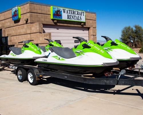 Kawasaki STX-12F & Yamaha VX-110 - Lake Havasu Boat Rental