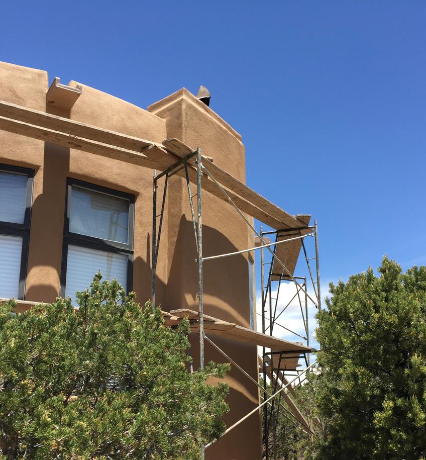 New Stucco In Santa Fe
