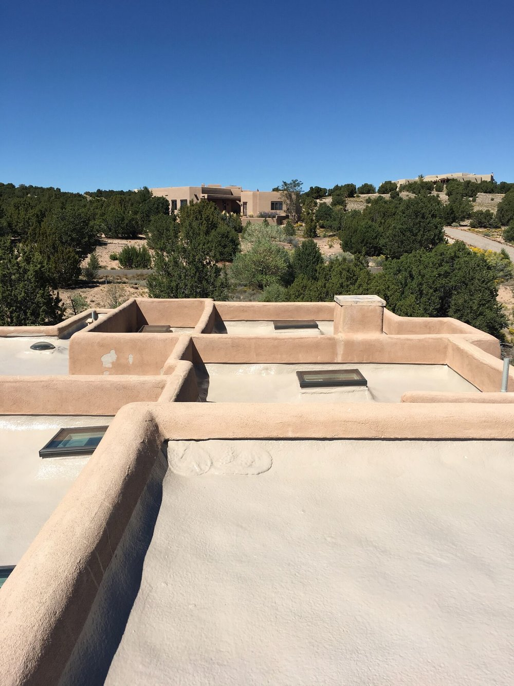 New Flat Roof in Santa Fe