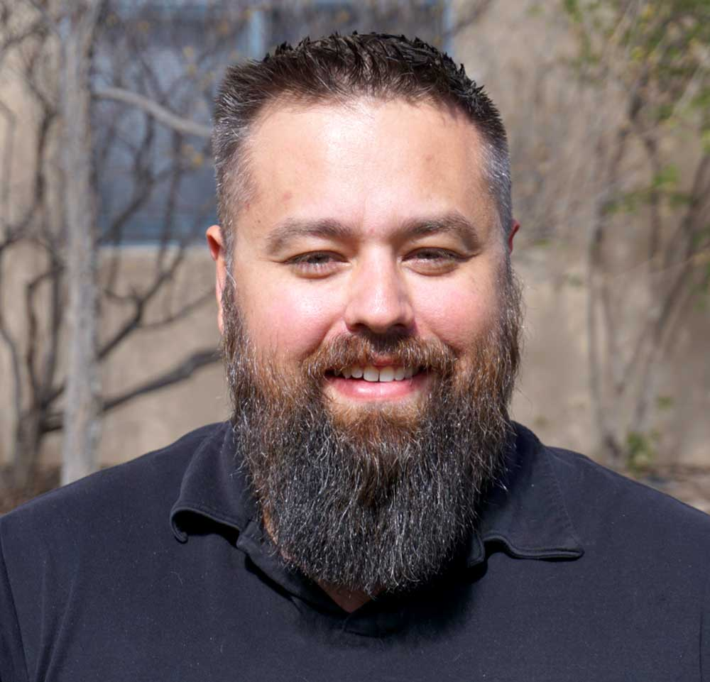- CJ MACKLIN, COMMERCIAL ESTIMATORCJ is originally from New York and has been a New Mexico resident since 2014. He was a manager for a large home improvement company for nearly 11 years. Since moving to New Mexico he has entered the roofing industry as a purchasing manager and new construction estimator. His experience as a manager in New York has instilled in him a desire to make the customer happy and see their project through till the end.