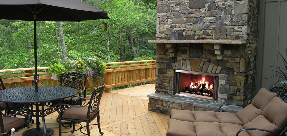 Outdoor Lifestyle Montana Wood Fireplace