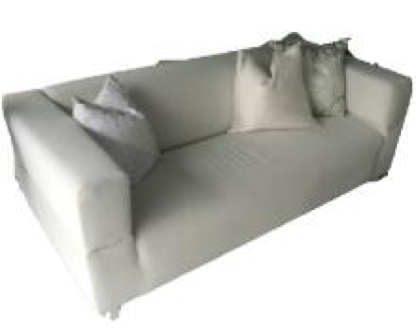 White Club Sofa