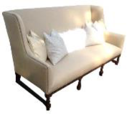 Empire Linen Sofa
