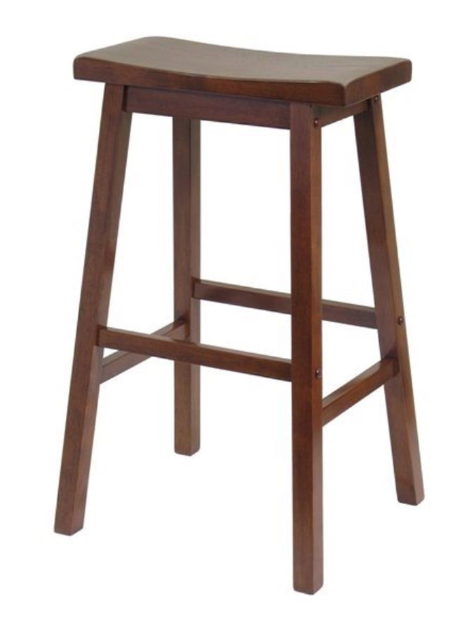 Brown Saddle Stool