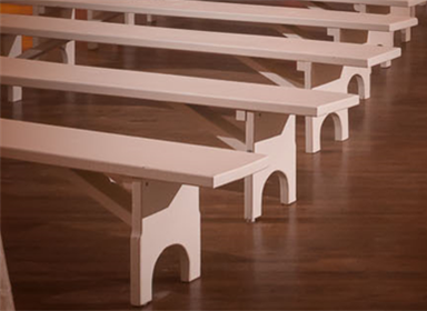Pew Benches