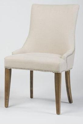 Sadie Petite Linen Chair