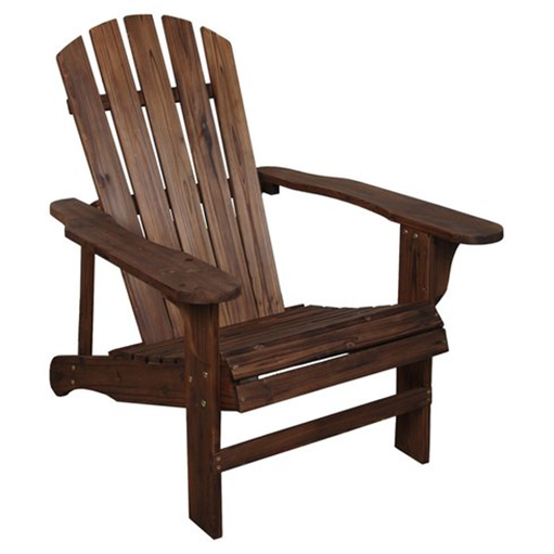 Stained Adirondack Chair