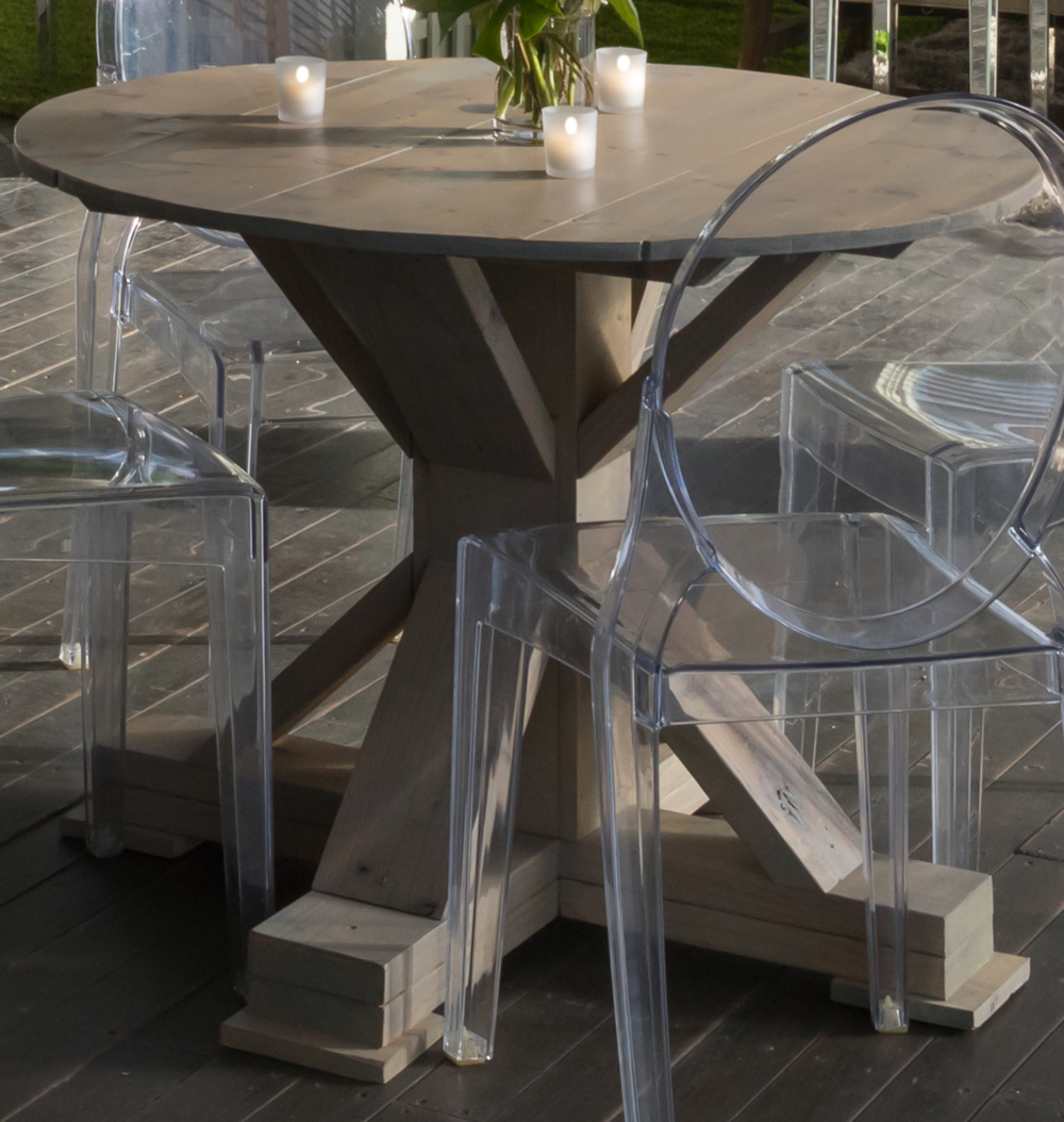 Wood Washed Wine Table