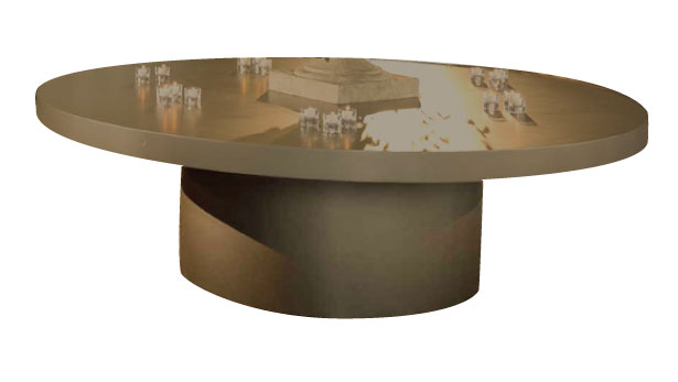 8' Round Food Display Table (Custom Paint Options Available)