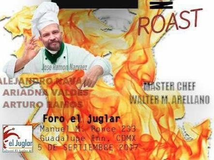 Roast y venta del libro #Necroderecho