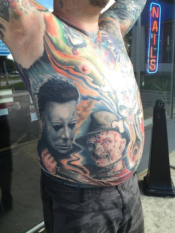 Sioux Falls Tattoo Artist Nick Call.