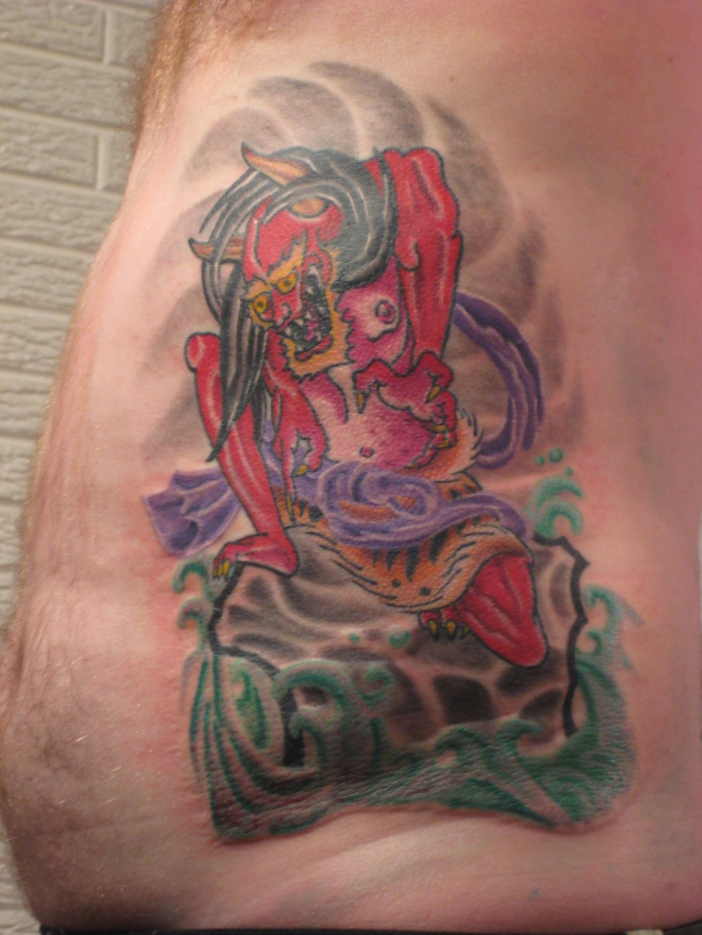 Sioux Falls Tattoo Artist, Rob Trimble, Permanent Addictions Tattoo.