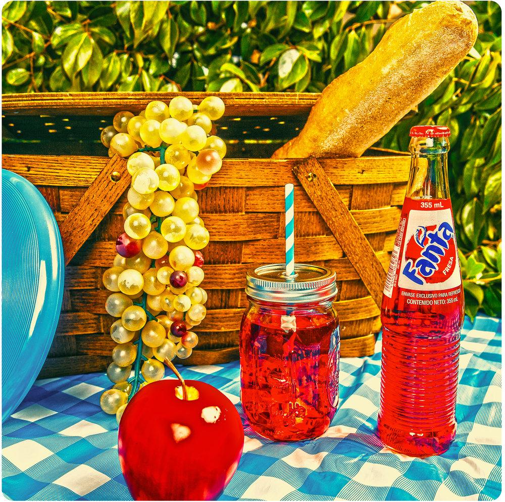 Fake Fruit Picnic